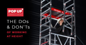 Dos and Don'ts of working at height