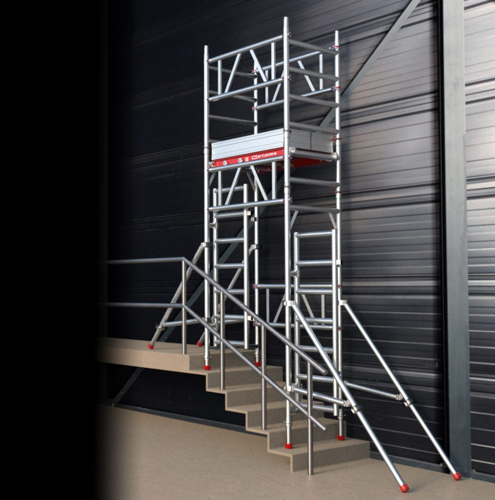 Lightweight And Robust Scaffold Alloy Towers